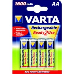Rechargeable Power Accu, Baby, 2-er Blister, VARTA