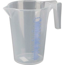 Messbecher Polypropylen transparent